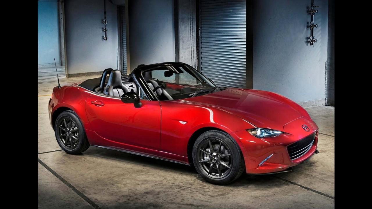 """Novo Mazda MX-5 é eleito """"Carro do Ano 2015"""" no Japão"""