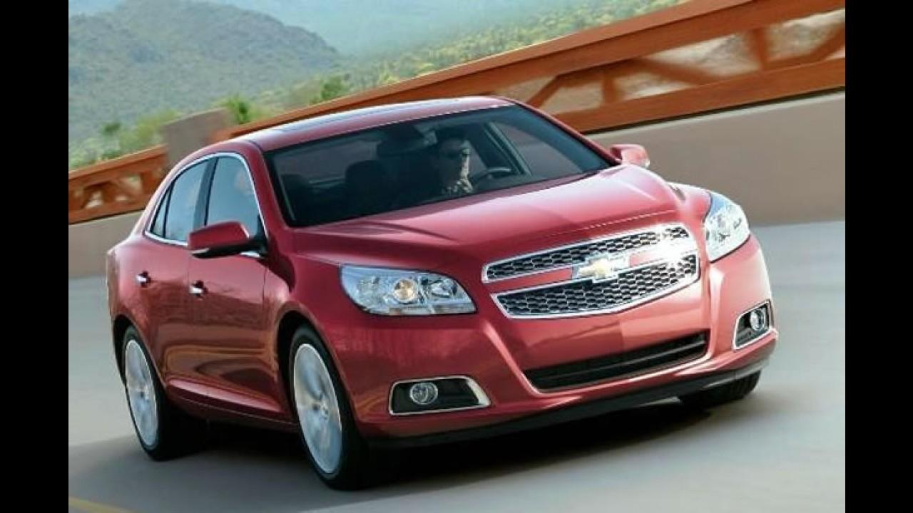 Vazou! Este é o Novo Chevrolet Malibu 2013