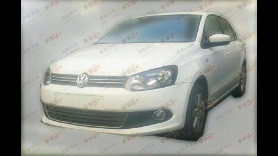 Volkswagen  já faz testes do Novo Santana 2013 na China
