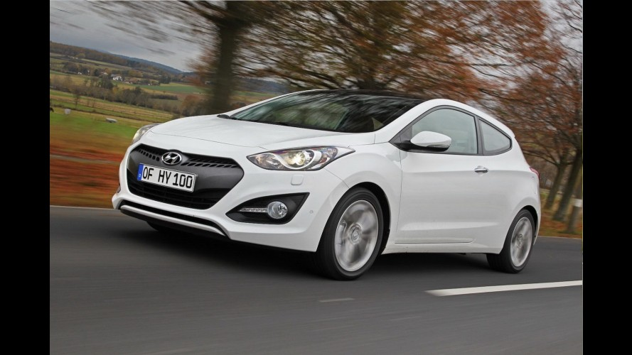 Novo Hyundai i30 em versão de três portas custará o equivalente a R$ 47.900 no Reino Unido
