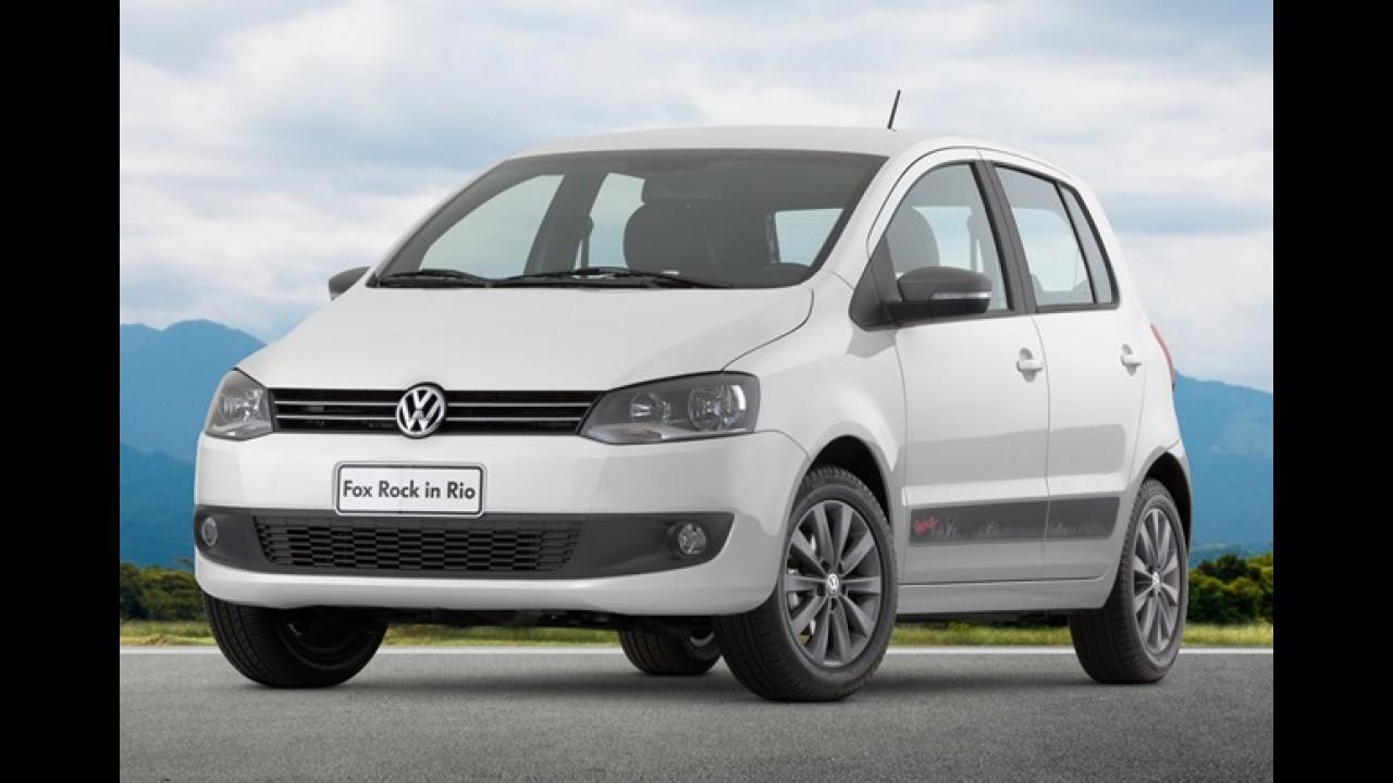 Volkswagen apresenta oficialmente série especial Rock in Rio para Gol e Fox