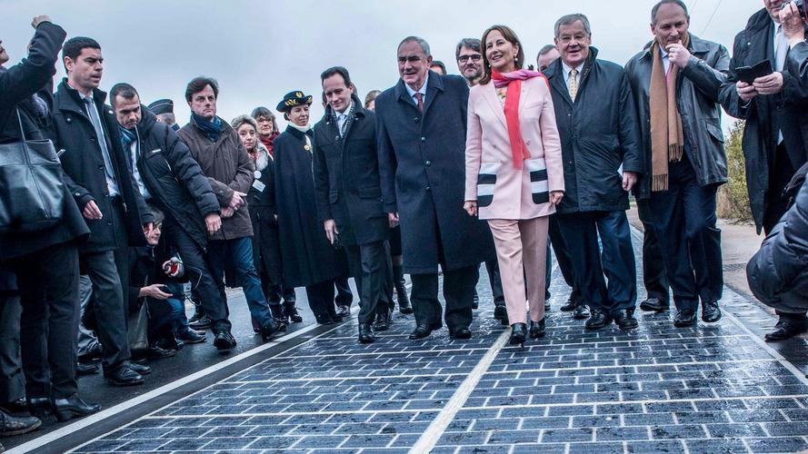 Primeira estrada solar do mundo é inaugurada na França
