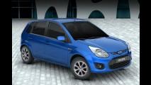 Fiesta Rocam ainda sobrevive como Ford Ikon no México - veja fotos