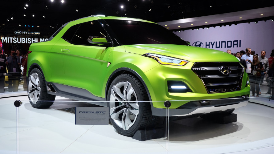 Hyundai Creta STC pickup concept takes Brazilians to bed