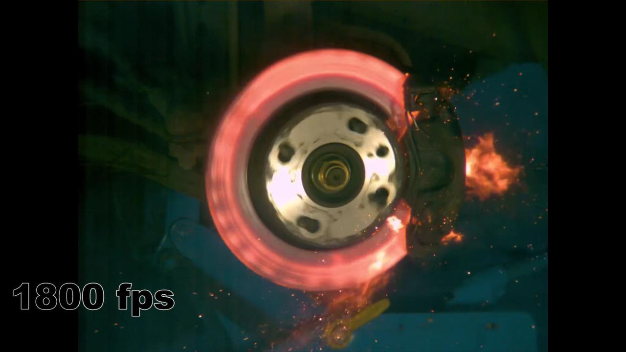 Brake Disc Destruction