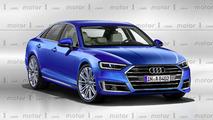 Audi A8 2018 recreación