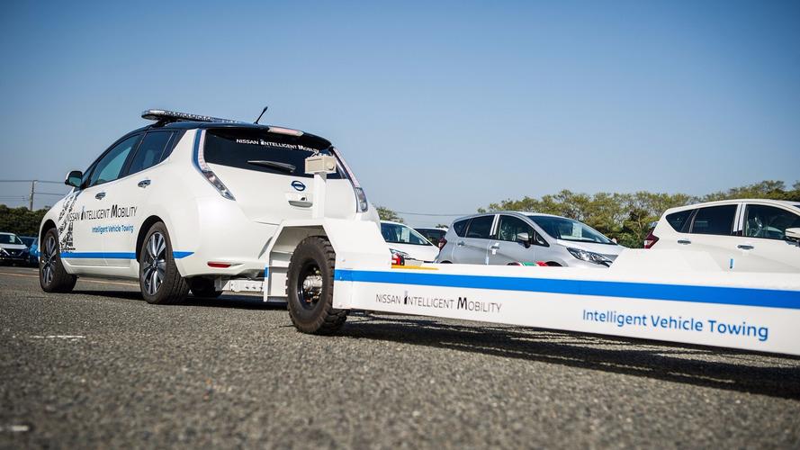 Nissan Leaf tow vehicle