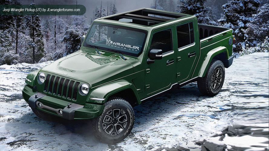 2018 Jeep Wrangler renderings by JLWranglerForums