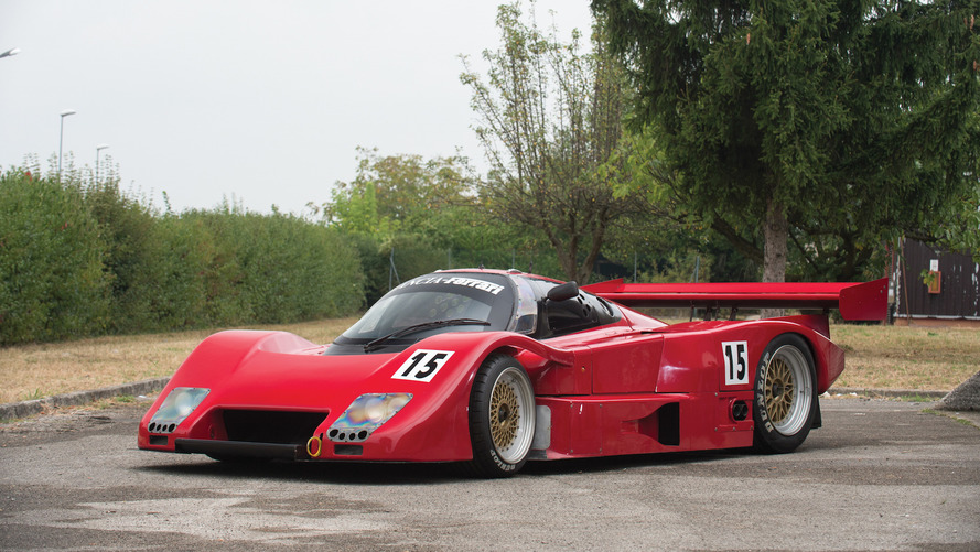 Lovely Lancia-Ferrari LC2 racer heading to auction