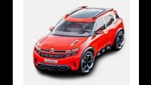 Citroën Aircross Concept aparece pela primeira vez em fotos vazadas
