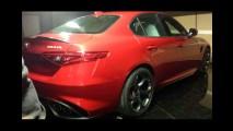 Flagra: com tração traseira, Alfa Romeo Giulia surge antes da estreia