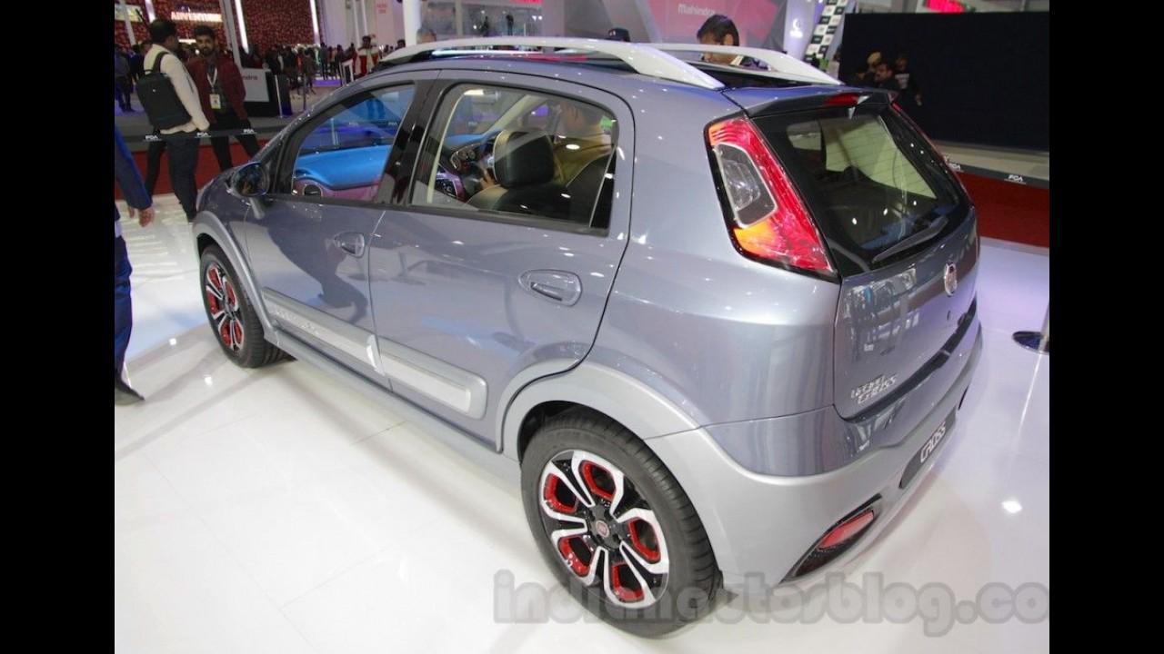"Após versão pobre, Fiat Punto ganha variante ""refinada"" Urban Cross na Índia"