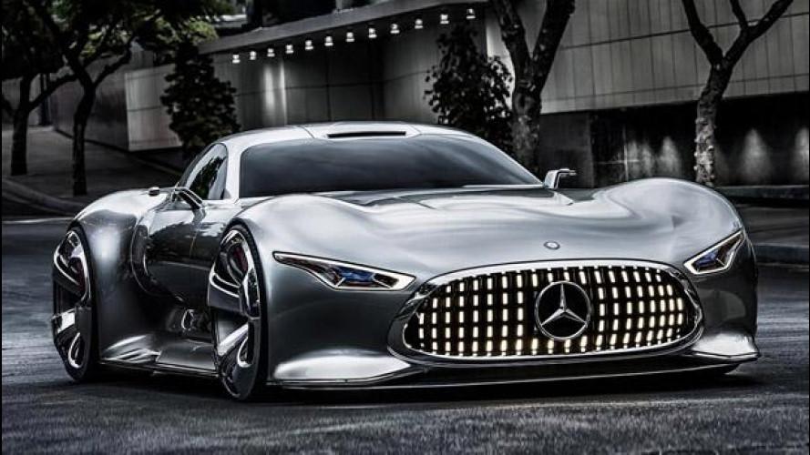 Mercedes AMG Vision Gran Turismo, dalla console alla produzione