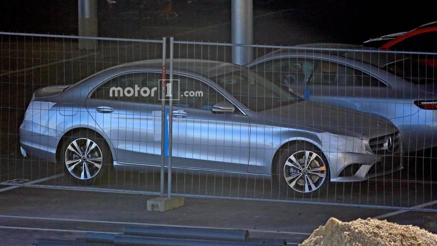Makyajlı Mercedes C Serisi dizel hibritle mi geliyor?