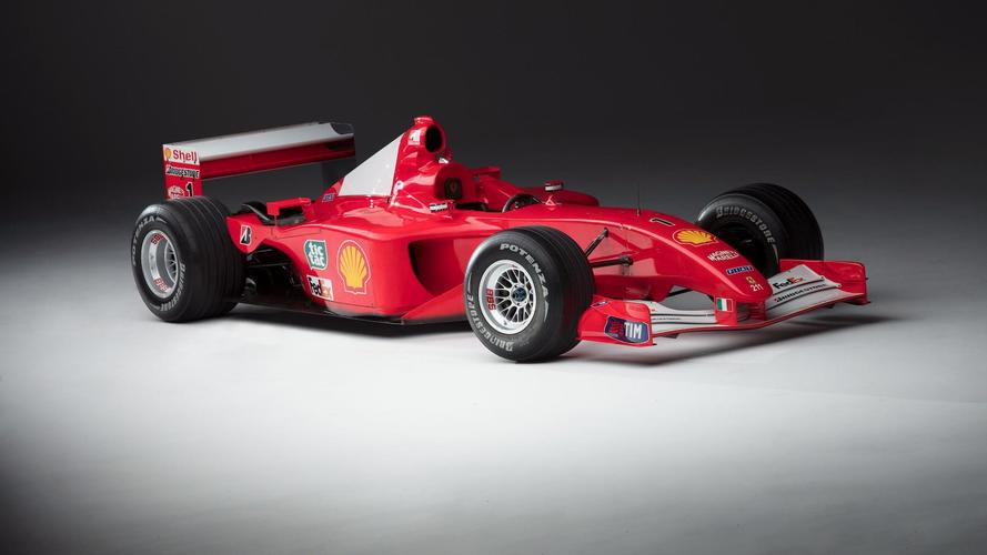 La mythique Ferrari F2001 de Michael Schumacher est en vente !