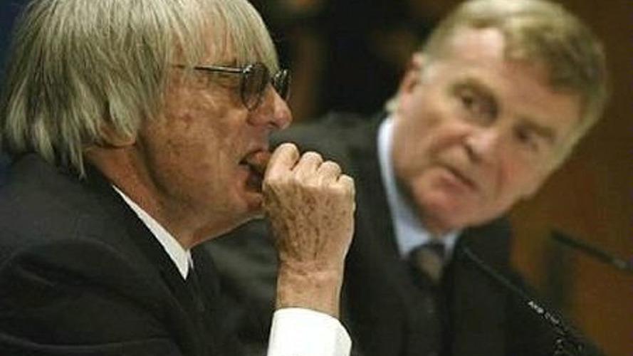 Ecclestone calls Mosley to Resign