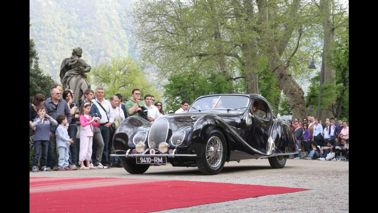 Villa d'Este 2010. Talbot-Lago T150 C SS
