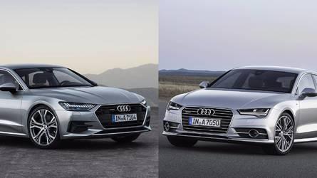 Comparamos el Audi A7 Sportback 2018 y su antecesor, palmo a palmo
