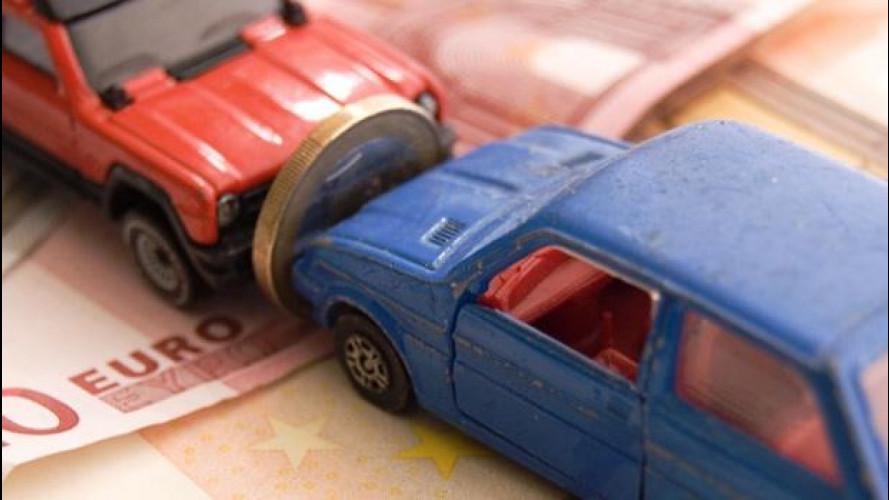 Rc auto, tariffe in calo in tutta Italia