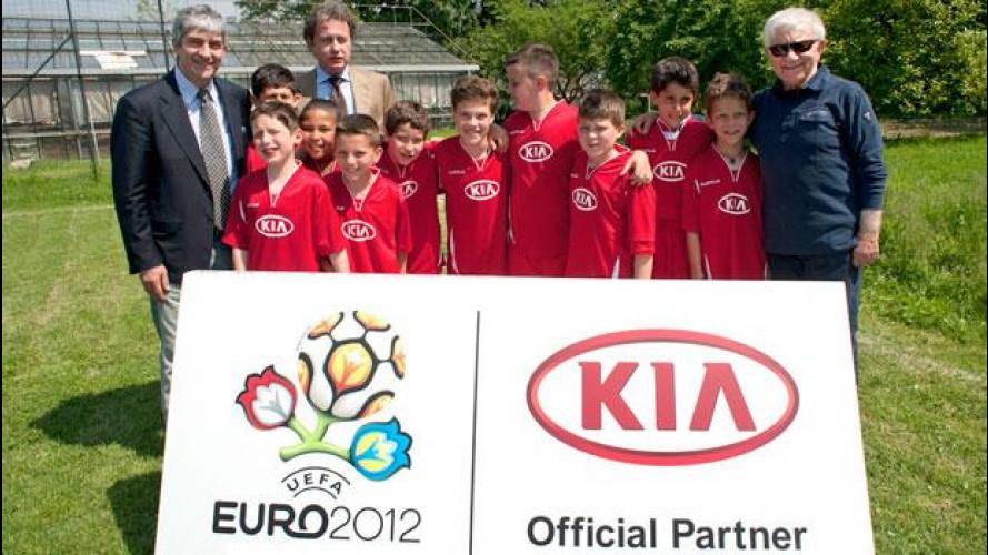 Europei 2012, Kia porta i bambini della comunità di Don Mazzi a vedere Italia-Inghilterra