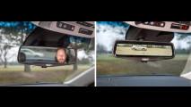 Cadillac CT6, lo specchietto digitale