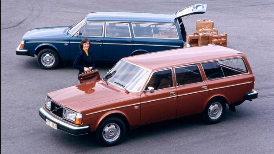 Volvo 245, la prima wagon moderna