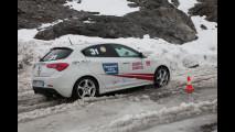 Gomme invernali, pneumatici e catene da neve: i test drive sull Stelvio - FOTO