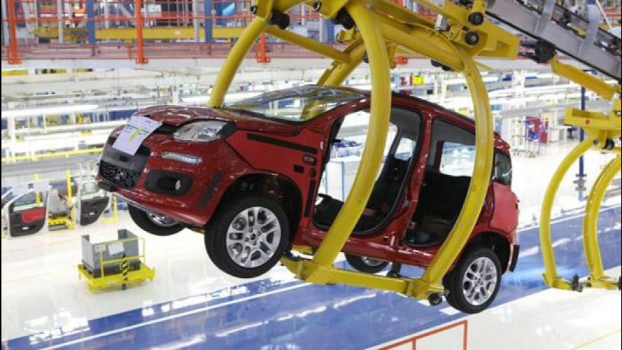 Tecnici Volkswagen in visita alla Fiat di Pomigliano d'Arco