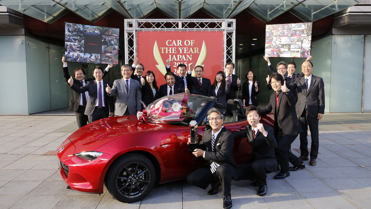 Mazda MX-5 wins Car of the Year Japan