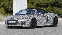 Audi R8 Spyder spy photo