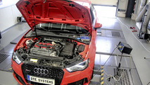 Audi RS3 with DTE Systems chip tuning develops 410 PS and 557 Nm