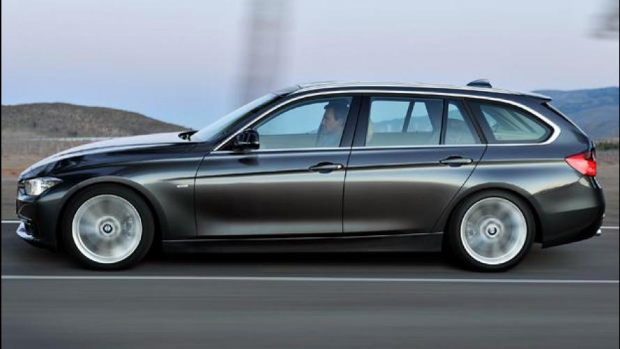 Nuova BMW Serie 3 Touring 330d e 320d, viaggiatrici bavaresi