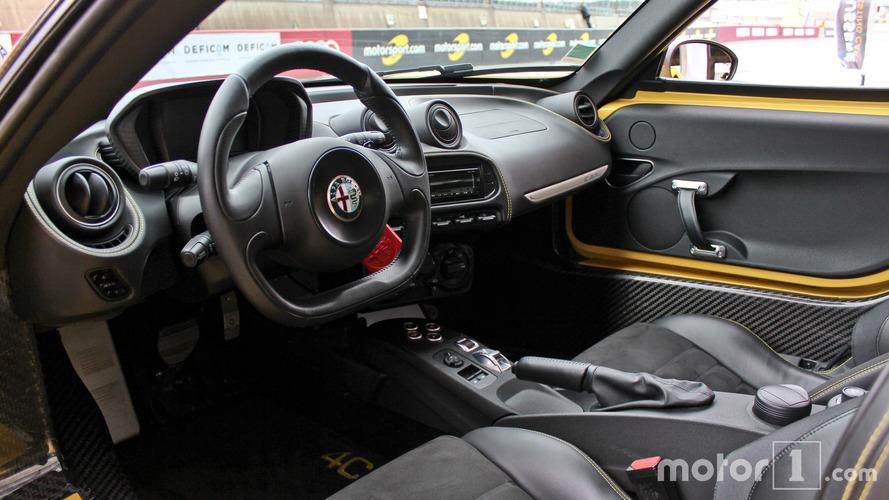 Essai Alfa Romeo 4C Spider 2017