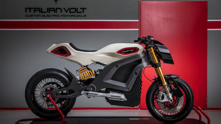 İtalyan firmadan şık elektrikli motosiklet