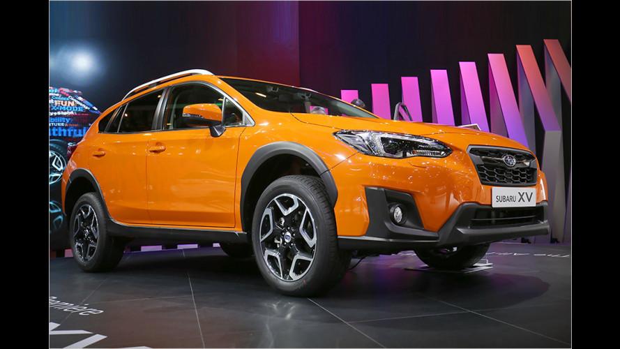 Subaru zeigt neuen XV auf dem Genfer Autosalon 2017