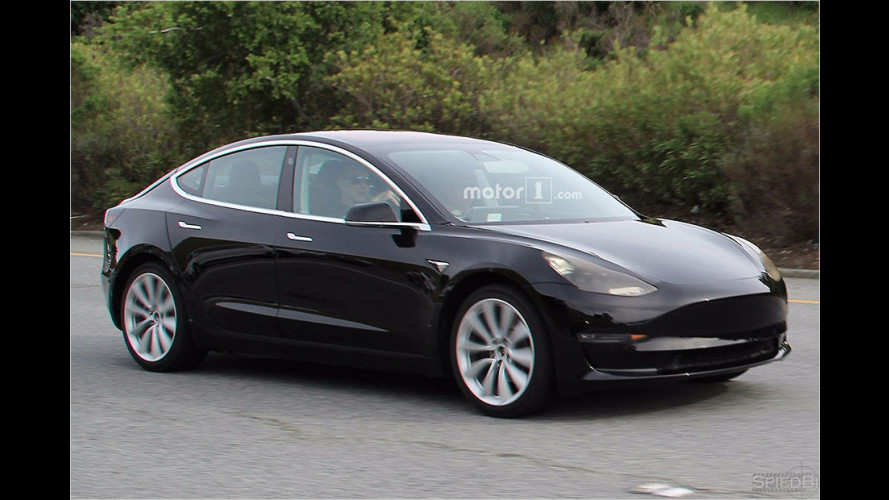 Erwischt: Die Serienversion des Model 3