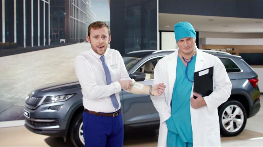 Skoda Pulls Bio-Implant Prank On Unsuspecting Customers