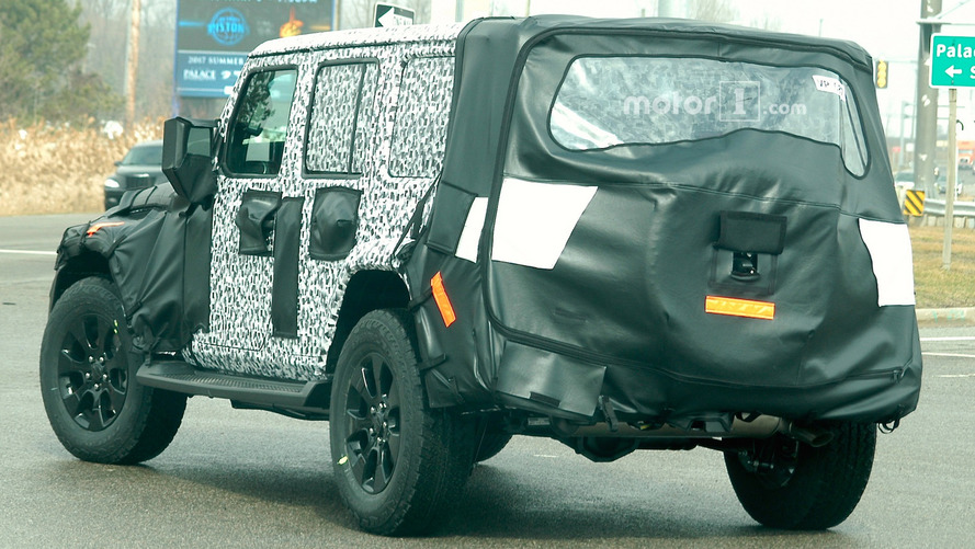 All-new 2018 Jeep Wrangler spied in testing