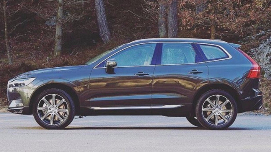 2018 Volvo XC60 leak proves a predictable design can still be lovely