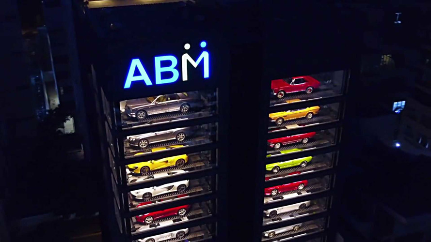 This Is The World S Largest Luxury Car Vending Machine