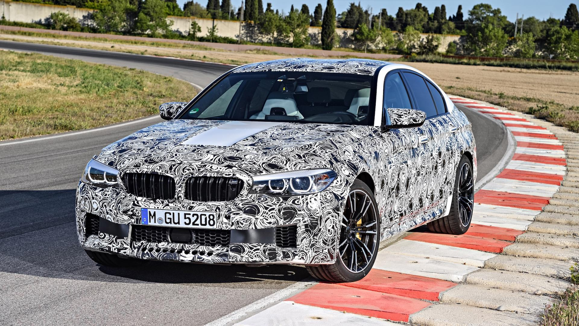 2018 bmw m5 extensive details released during private preview. Black Bedroom Furniture Sets. Home Design Ideas