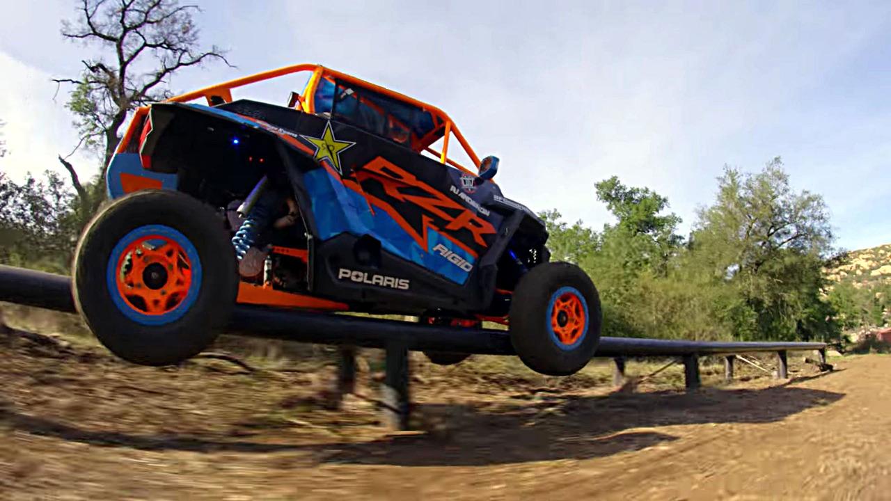 Polaris RZR Stunts