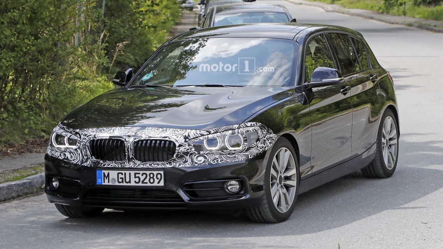 Rear-Wheel-Drive BMW 1 Series Spied Prepping For Final Facelift