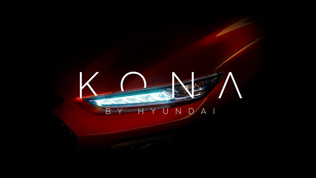 2018 Hyundai Kona teaser