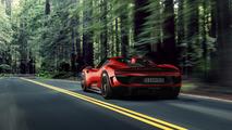 Porsche 918 Spyder facelift render