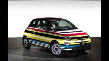 Fiat 500C, battuto all'asta l'esemplare unico Missioni