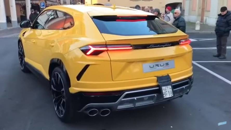 Vídeo - Lamborghini Urus já passeia livre pelas ruas da Europa