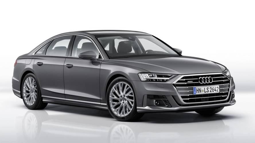 Audi A8 with Spor Paketi