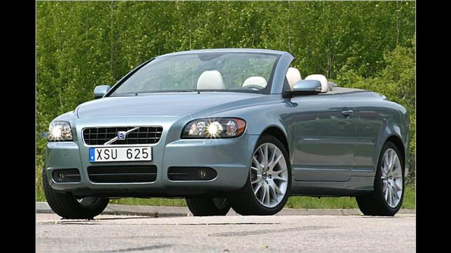 Klappt jetzt auch mit Diesel: Volvo C70 D5 im Test