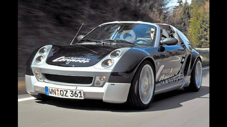 Lorinser: Optik-Feinschliff für den Smart Roadster